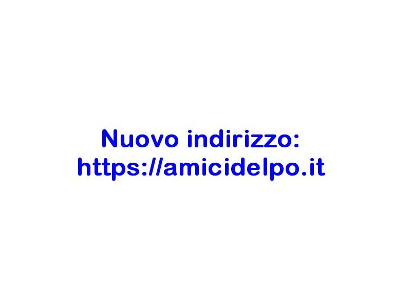 WebCam sul Po